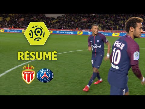 AS Monaco - Paris Saint-Germain (1-2) - Résumé - (ASM - PSG) / 2017-18