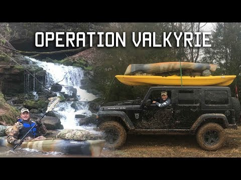 OPERATION VALKYRIE (TACTICAL PRECISION RIFLE/SURVIVAL/KAYAK EXCURSION)