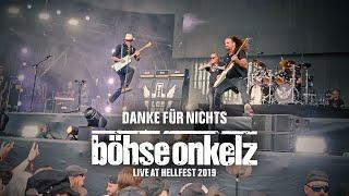 Böhse Onkelz - Danke für Nichts (Live Hellfest 2019)