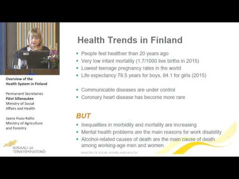 Overview of the Health System in Finland Permanent