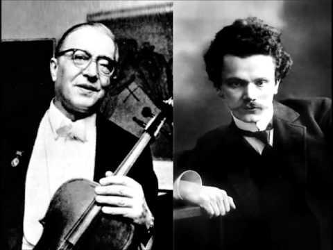 Glinka Sonata for Viola and Piano (Borisovsky & Goldenweiser)