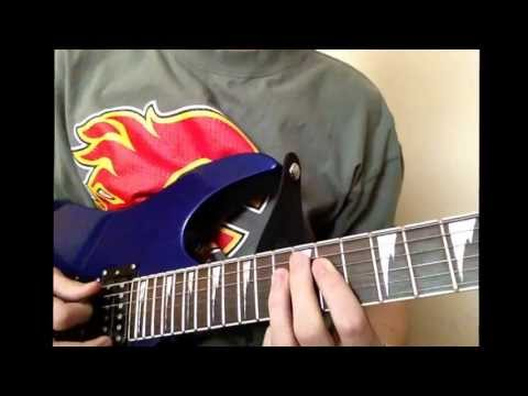 How to play intro to fallen by Volbeat on guitar