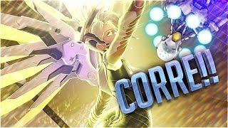 CORRE!! SE ACABA EL TIEMPO!! (Con Kuro) | Road to Diamond #13 | Overwatch (Competitivo)