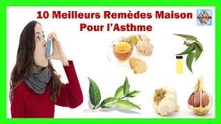 Traitement naturel pour l'asthme |10 meilleurs remèdes maison pour l'asthme