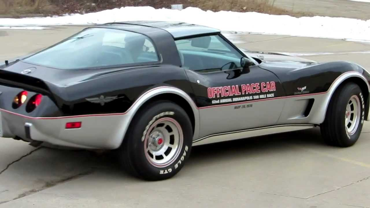 1978 corvette limited edition pace car youtube. Black Bedroom Furniture Sets. Home Design Ideas
