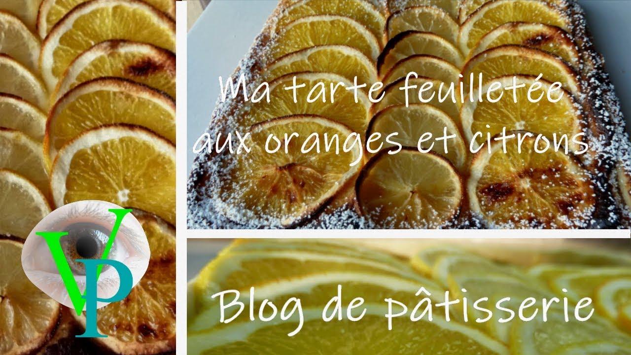 Ma tarte d'agrumes citrons et oranges
