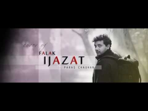 Falak - ijazat | cover done by Paras Chauhan
