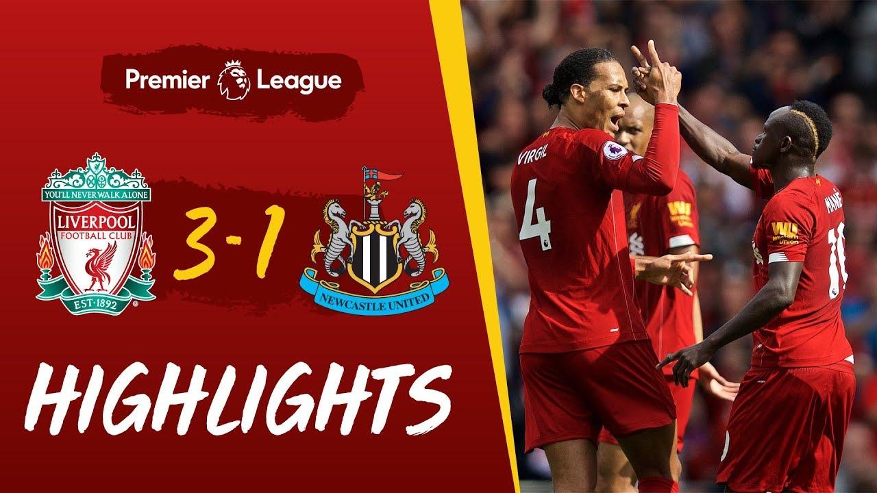 Liverpool Vs Newcastle Mane S Sensational Strike Helps Reds Win Youtube