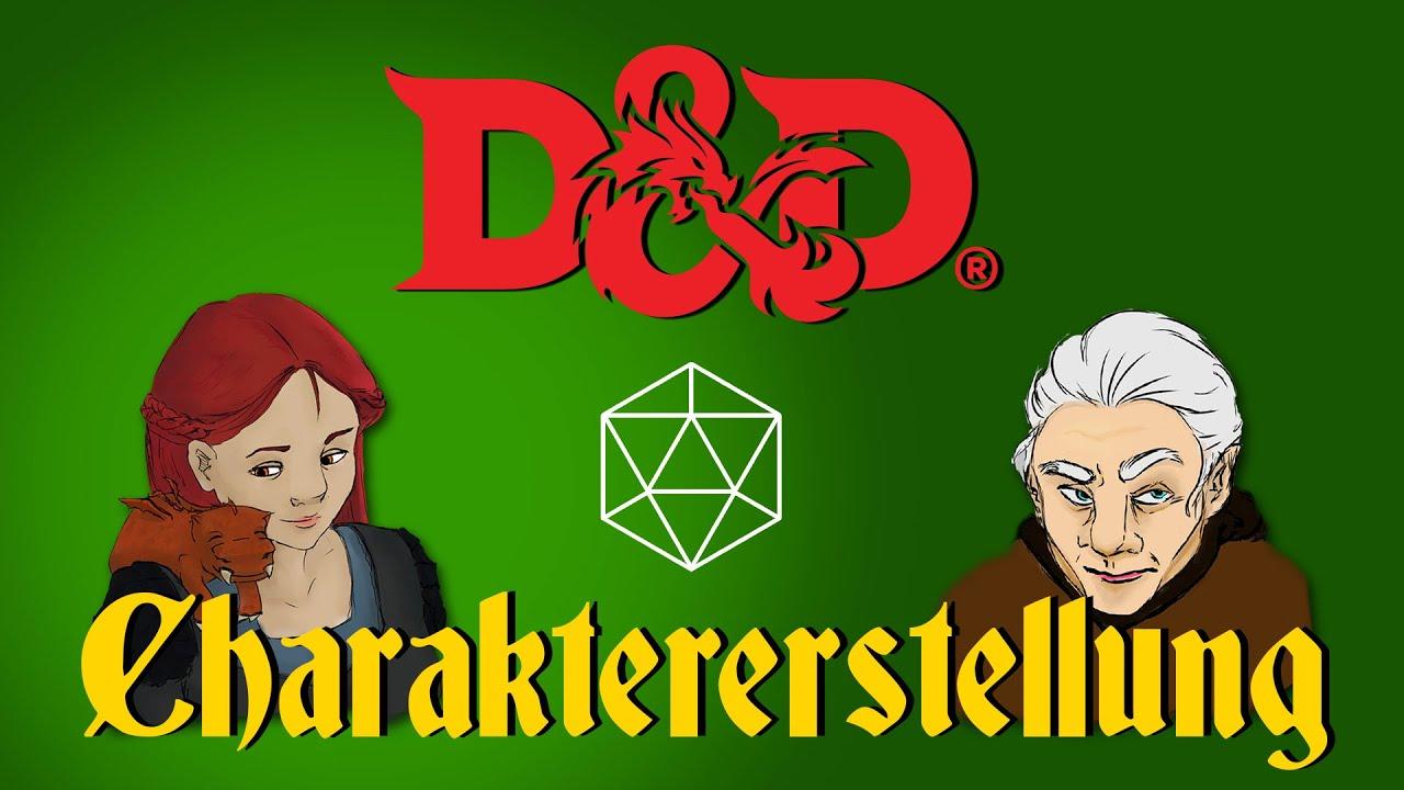 Wie erstelle ich einen D&D Charakter? | Tutorial 01 | Die W20 Show