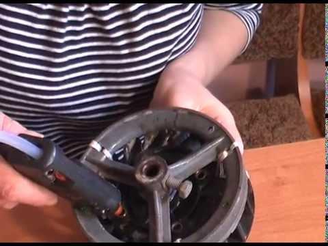 Ремонт крыльчатки вентилятора