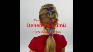 kız çocukları için pratik saç modelleri  - 1