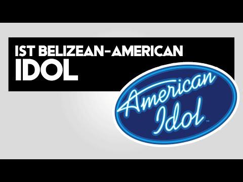 First Belizean in American Idol