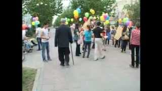 Дагестанские флешмобберы атакуют проспект Ленина