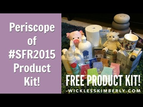 Scentsy Family Reunion 2015 Convention Giveaway Unboxing + Scentsy Diffuser