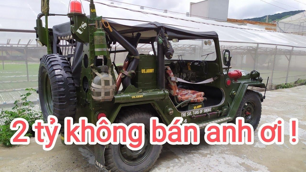 Xe jeep này tôi trả 1 tỷ chủ nhân nói 2 tỷ cũng không bán.