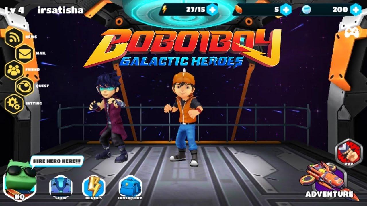 Boboiboy Galactic Heroes Rpg Stage 1 4