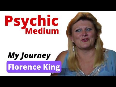 Psychic Reporter interviews Florence King, Psychic Medium