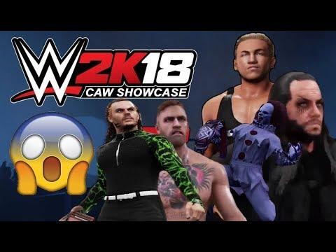 ★ WWE 2K18 CAW Showcase Episode 1 ★★ WWE 2K18 CAW Mode ★