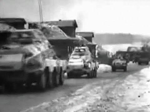 Schwerer Panzerspähwagen - Sd.Kfz. 231 and Sd.Kfz. 232, Winter 1941 near Moscow WWII