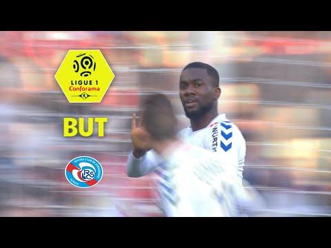 But Jean Eudes AHOLOU (6') / Paris Saint-Germain - RC Strasbourg Alsace (5-2)  / 2017-18