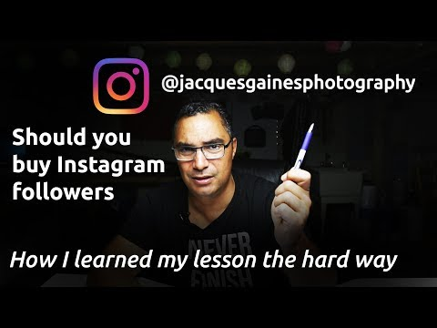 SHOULD I BUY INSTAGRAM FOLLOWERS? THE COLD HARD REVIEW ON BUYING FOLLOWERS AND USING BOTS