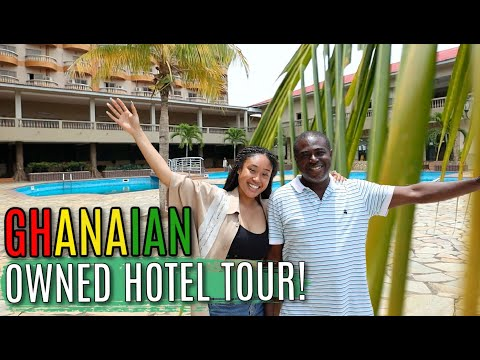 INCREDIBLE GHANAIAN OWNED HOTEL TOUR | From Trader to Hotel Owner!