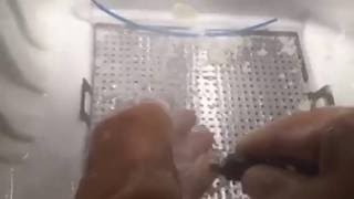 Water jet to remove supporting material