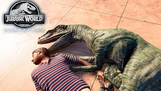 СФОТАЙ ТИПО СПЛЮ С РАПТОРОМ - Jurassic World EVOLUTION #5