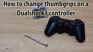 How to Replace Controller Thumbgrips PS3 Dualshock 3 - Playstation Tutorial - ZanyGeek