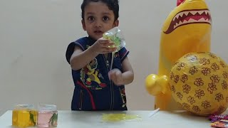 BIG SLIME SURPRISE EGG FOR KIDS WITH DINOSAUR SLIME AND CHOCOLATES I DIY GIANT SURPRISE EGGS