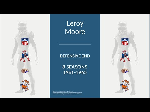 Leroy Moore: Football Defensive End