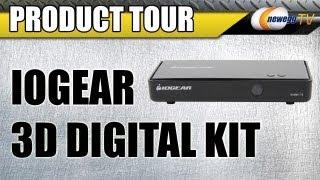 Newegg TV: IOGEAR Wireless HDMI 3D Digital Kit GW3DHDKIT Product Tour