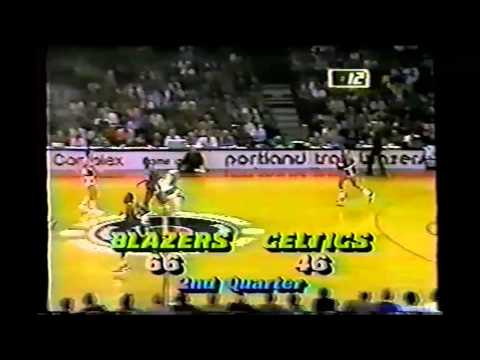 1985 Regular Season Boston@Portland HIGHLIGHTS