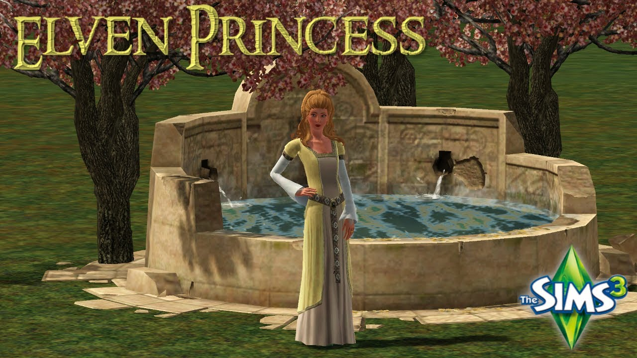 The Sims 3 Create A Sim Elven Princess Lord Of The