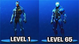 "LEVEL 65 ""CARBIDE"" Full Armor Unlocked! Fortnite Season 4 Battle Pass Skin Fully Upgraded"