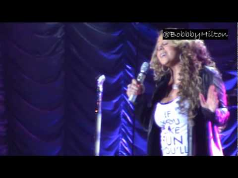 Mariah Carey Live Barretos 21.08.2010 [HQ] - I Want To Know What Love Is