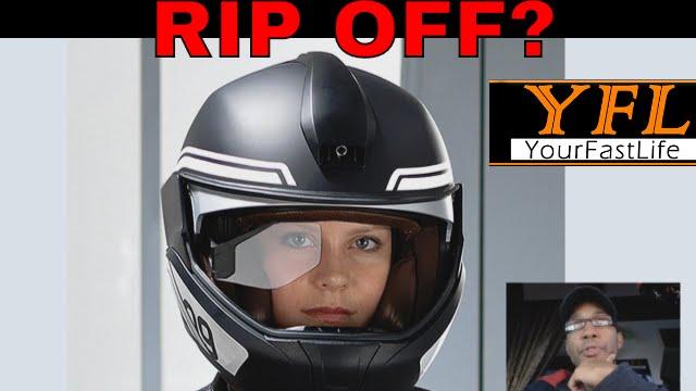 motorcycle helmet hud from bmw youtube