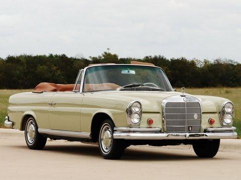 1965 mercedes benz 220se cabriolet youtube. Black Bedroom Furniture Sets. Home Design Ideas
