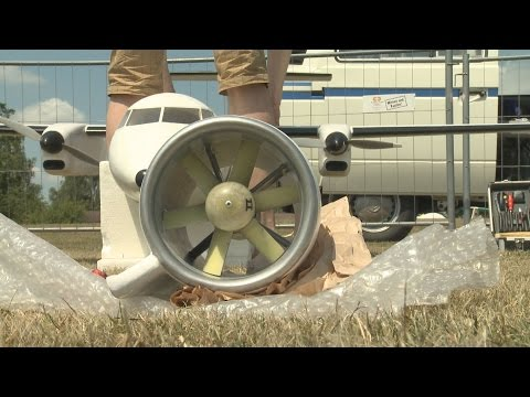 Giant RC Airliner models powered with Electric motors