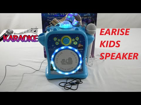 Earise Kids Speaker Karaoke Machine