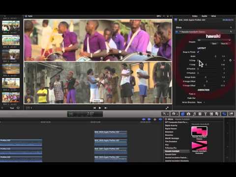Hawaiki, le split screen facile pour FCPX