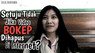 """Setuju ngaak jika Video B0k3p di Hapus di Internet?"" || Sosial Eksperimen"