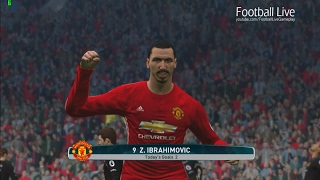 Manchester United Vs Hull City | Premier League 2016/2017 | PES 2017 Gameplay