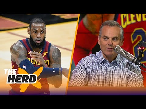 Colin on LeBron 'owning these baby dinosaurs' and Philly reaching 40 wins | THE HERD