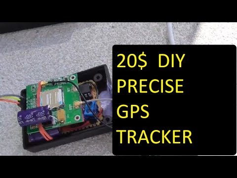 Make your own cheap DIY GSM GPS bike car tracker / GPS car locator  for  20 USD ! - final version