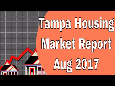 Tampa Real Estate Market Report for August 2017 - Lance Mohr - Tampa Realtor