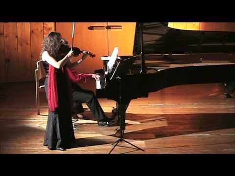 Grieg Sonate Nr. 3 mvt. 2 violin/piano: Isabel Steinbach+Pervez Mody