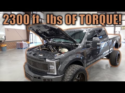 TRIPLE TURBO F350 WITH AN ANY LEVEL LIFT KIT and TRUCK SHOW