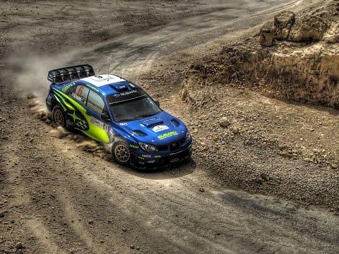 Subaru Impreza WRX STi Rally Launch