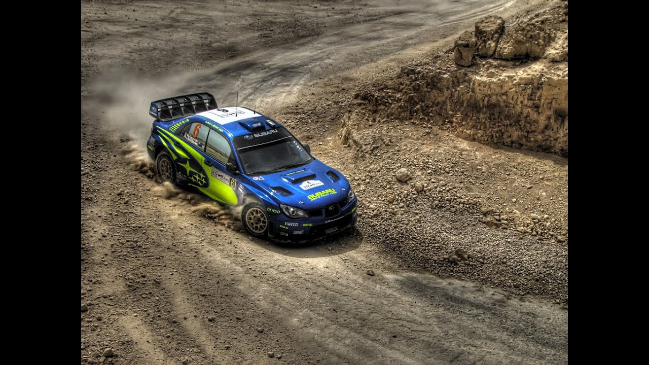 Subaru Impreza WRX STi rally launch - YouTube